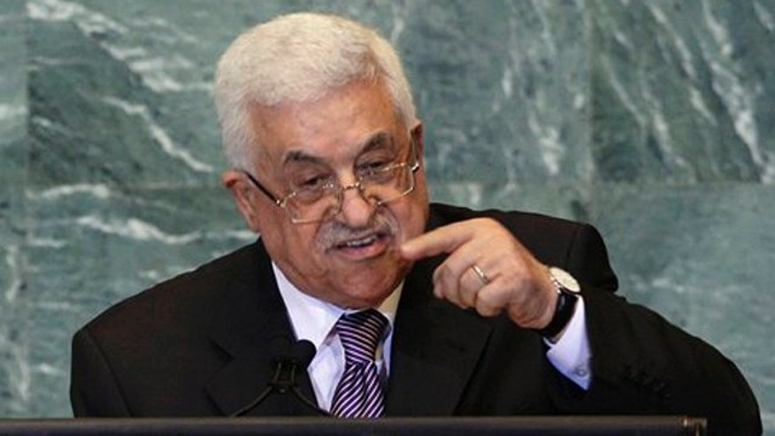 Sept. 23, 2011: Palestinian President Mahmoud Abbas, addresses the 66th session of the United Nations General Assembly at United Nations headquarters