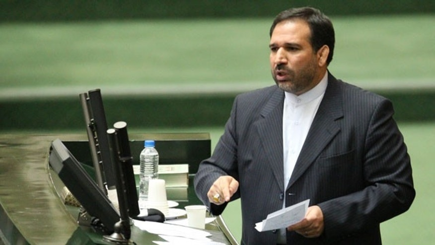Nov. 1, 2011: Iran's Economy Minister, Shamsoddin Hosseini, speaks in an open session of parliament during his impeachment, in Tehran, Iran.