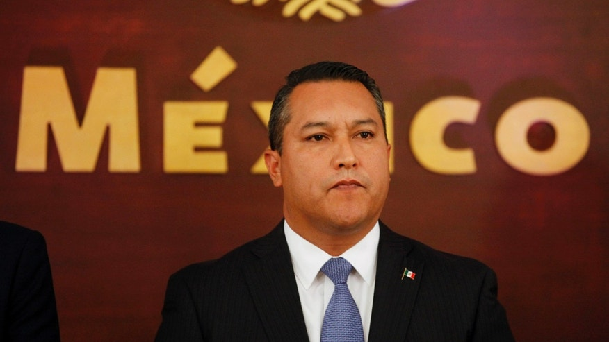 July 14, 2010: Mexico's Interior Minister Francisco Blake Mora attends his his swearing in ceremony at Los Pinos presidential residence in Mexico City.