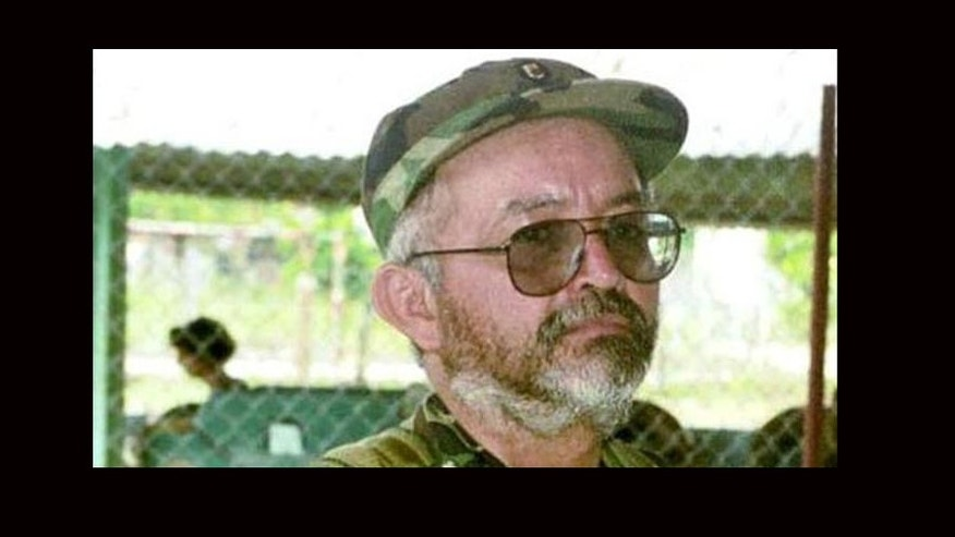 Raul Reyes, FARC Commander killed in a March 1, 2008 Colombian raid that crossed the border with Ecuador.