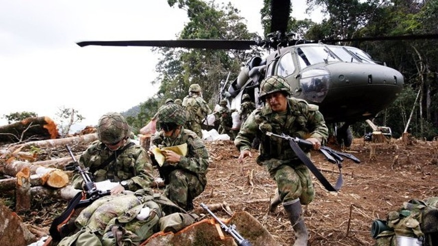 File Photo Colombian Army