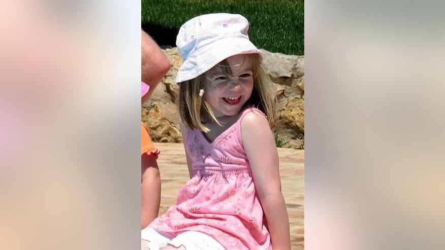 Family handout photo dated 03/05/2007 of Madeleine McCann on the day she went missing from the family's holiday apartment in Praia da Luz, Portugal.