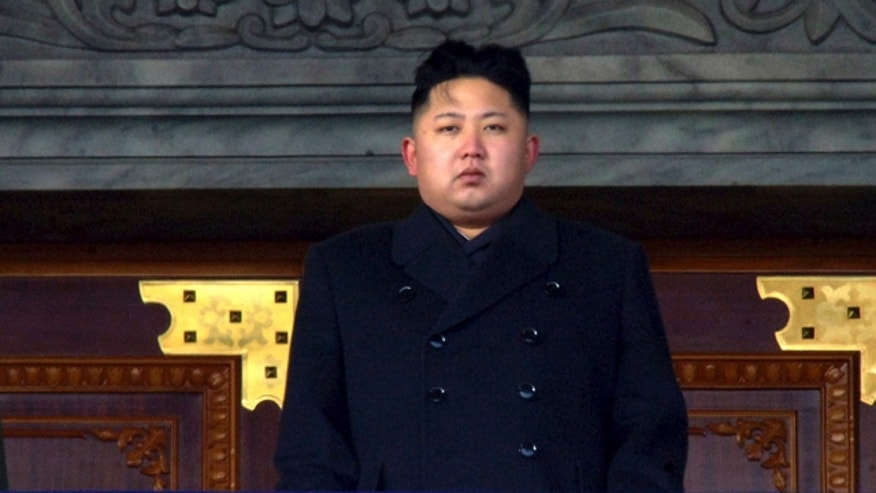 Dec. 29, 2011: New North Korean leader Kim Jong Un presides over a national memorial service for his late father Kim Jong Il at Kim Il Sung Square in Pyongyang, North Korea.