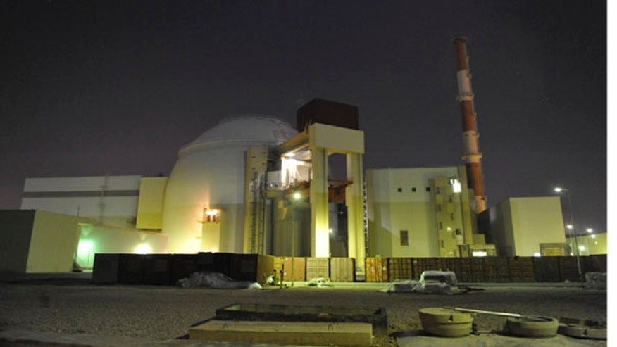 FILE: The reactor building of Iran's Bushehr Nuclear Power Plant is seen, just outside the port city of Bushehr.