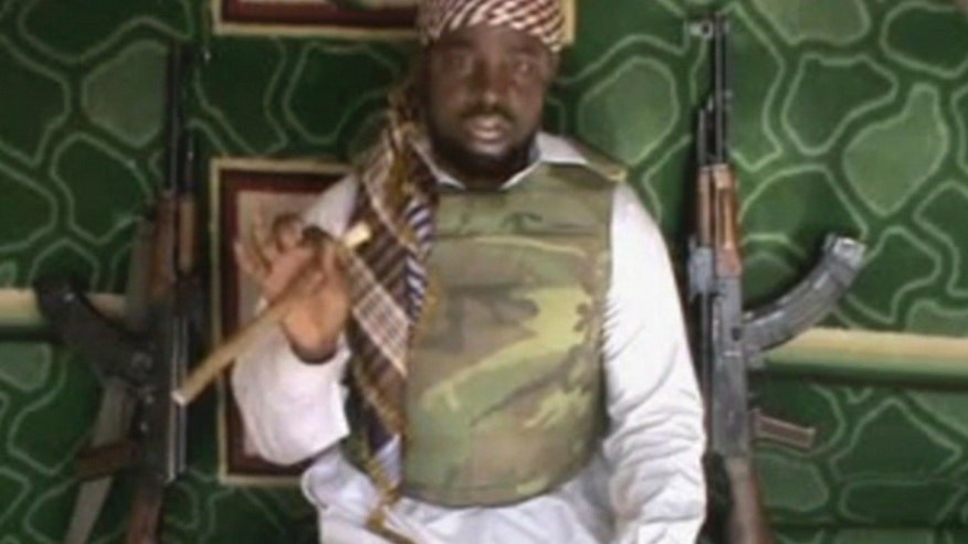 Jan. 10, 2012: This image taken from video posted by Boko Haram sympathizers shows the leader of the radical Islamist sect Imam Abubakar Shekau made available.