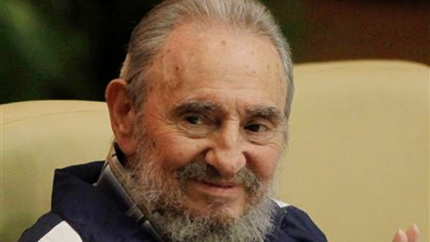 In this April 19, 2011 file photo, Cuba's Fidel Castro attends the 6th Communist Party Congress in Havana, Cuba.