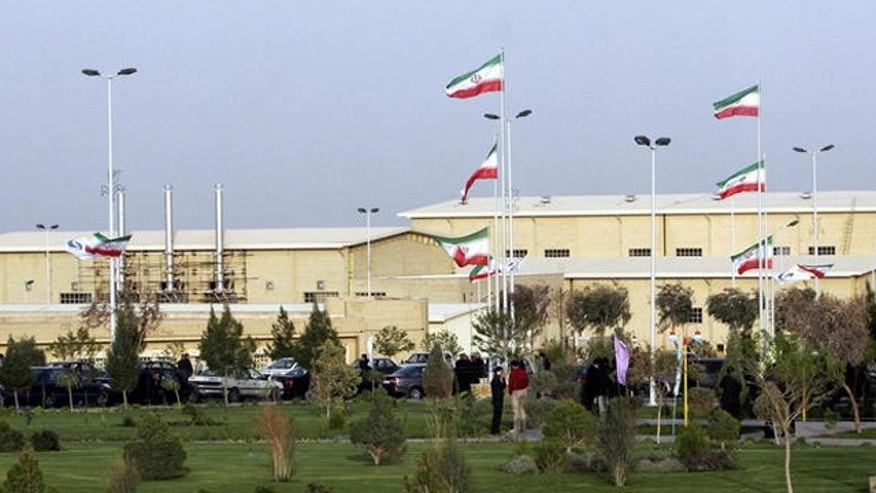April 9, 2007: Iran's nuclear enrichment facility in Natanz 186 miles south of capital Tehran, Iran.
