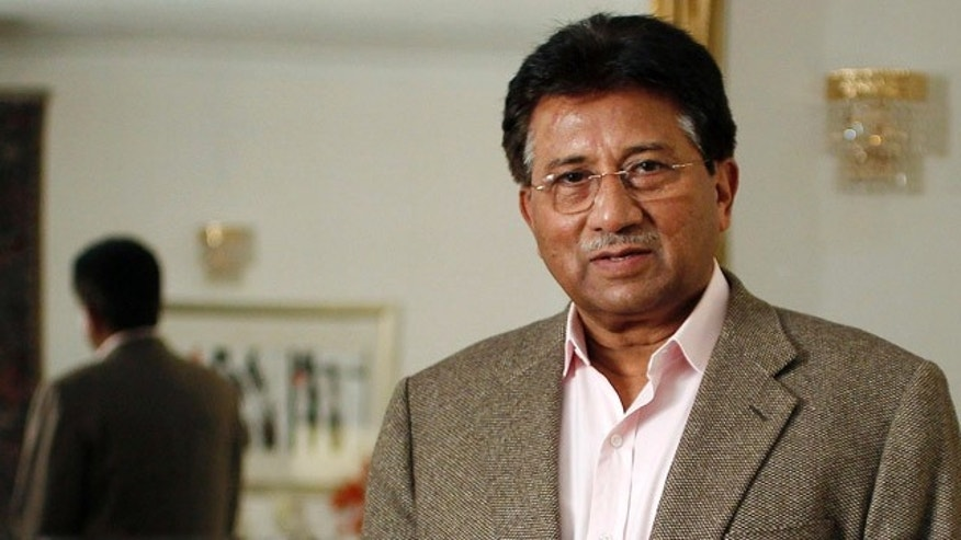 Jan. 16: Former Pakistani President Pervez Musharraf poses for a picture after an interview with Reuters in London.