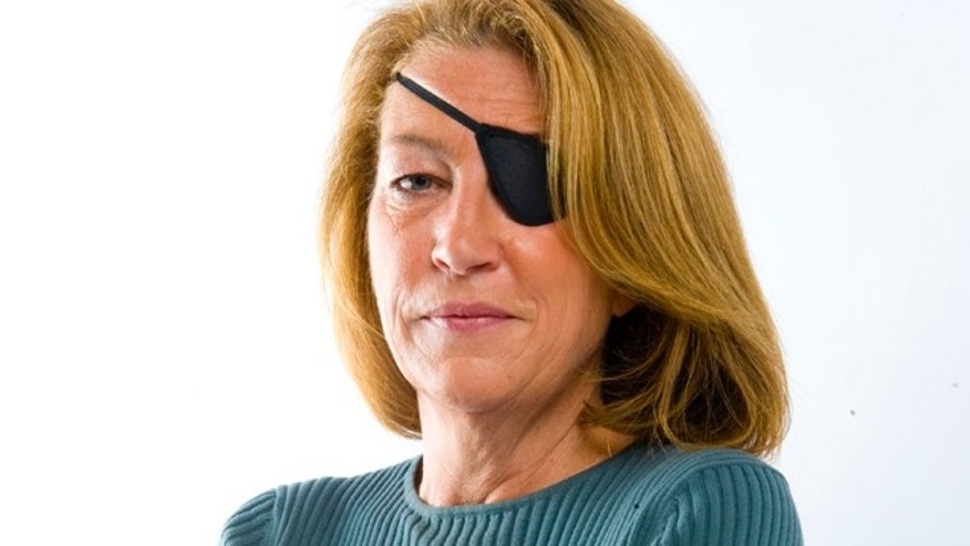 File: This is an undated image made available by the Sunday Times in London of  journalist Marie Colvin.