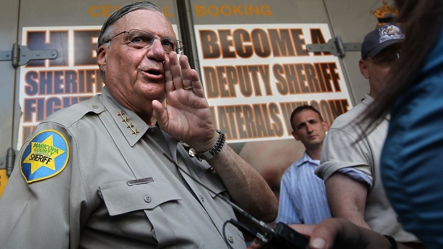 Maricopa County Sheriff Joe Arpaio in a 2010 file photo.