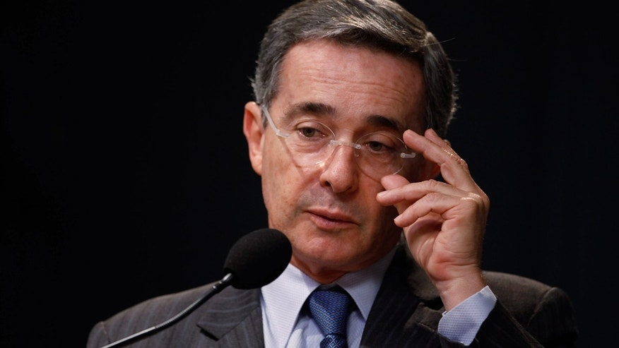 Former president of Colombia, Alvaro Uribe. (Photo by Chip Somodevilla/Getty Images)