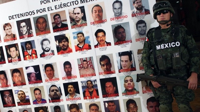 Mexican Drug Traffickers Make Knockoff Military Uniforms ...