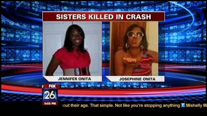 FILE: This photo shows Jennifer, left, and Josephine Onita.