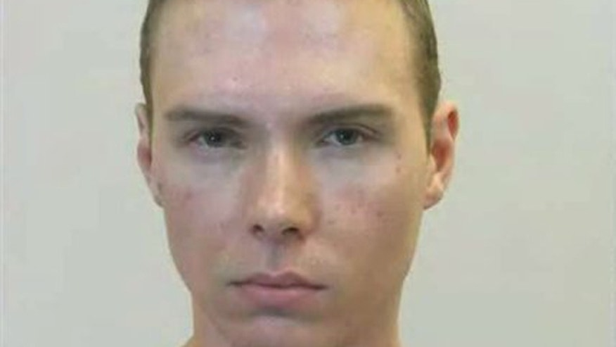 June 5, 2012: Luka Rocco Magnotta is shown in this photo released by the Montreal Police Service.