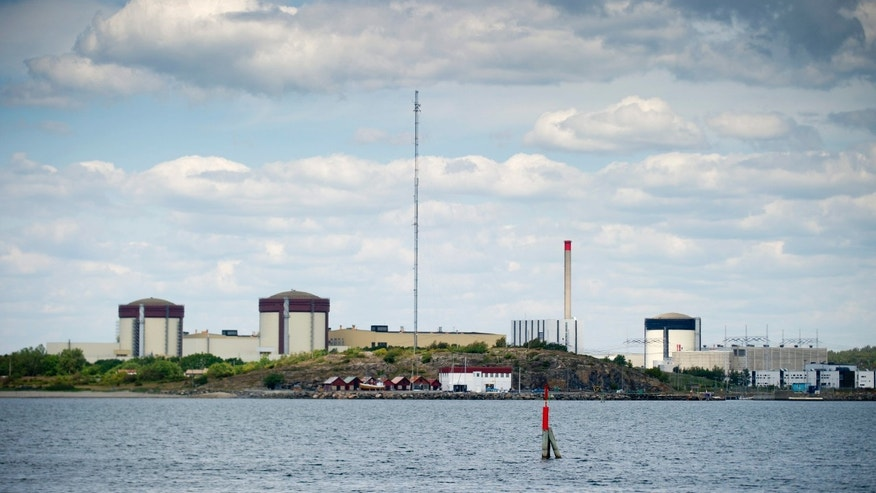 June 21, 2012: Sweden's Ringhals atomic power station near Varberg Sweden.