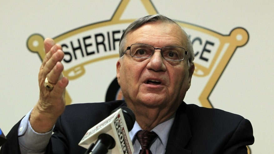 Maricopa County Sheriff Joe Arpaio. (AP Photo/Ross D. Franklin)