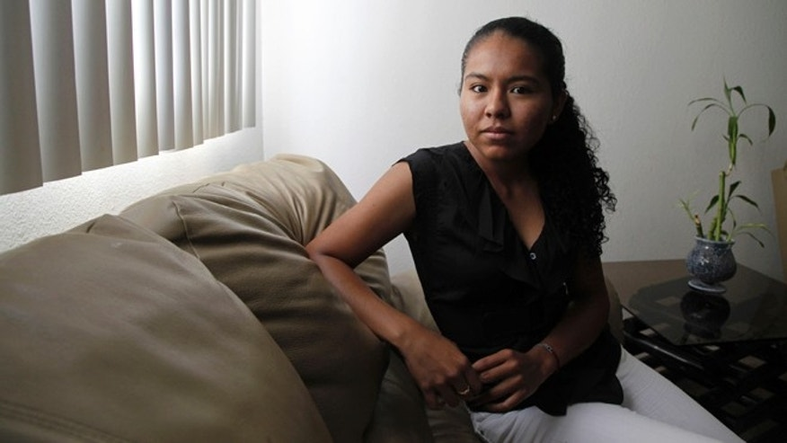 June 26: Araceli Cortes, an undocumented immigrant who wants to go to medical school, is shown at her home in the Los Angeles-area suburb of Canyon Country, Calif..Cortes had made up her mind to return to Mexico to pursue her dream of becoming a doctor.  (AP Photo/Reed Saxon)