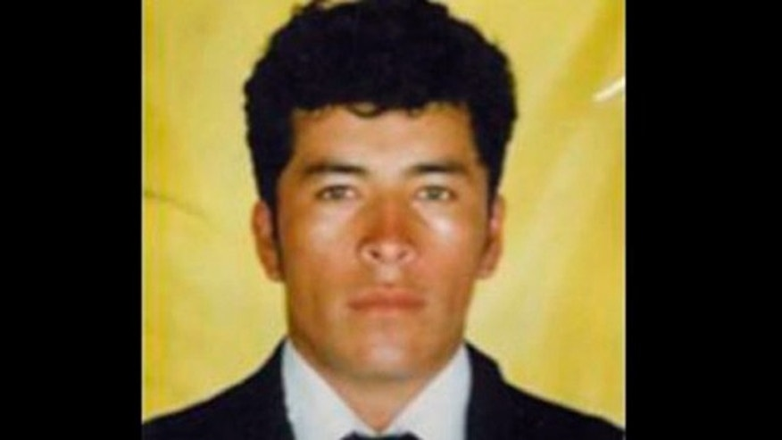 This undated photo released by Mexico's Attorney General's Office shows alleged Zeta drug cartel leader and founder Heriberto Lazcano in an unknown location. Mexico's Navy says fingerprints confirm that cartel leader Lazcano, an army special forces deserter whose brutal paramilitary tactics helped define the devastating six-year war among Mexico's drug gangs and authorities, was killed Sunday, Oct. 7, 2012 in a firefight with marines in the northern state of Coahuila on the border with the Texas. (AP Photo/Mexico Attorney General's Office)