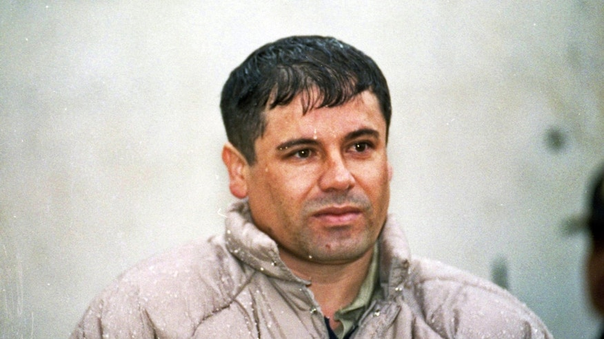 Joaquín 'El Chapo' Guzmán, leader of Mexico's Sinaloa cartel, in a June 10, 1993 file photo.