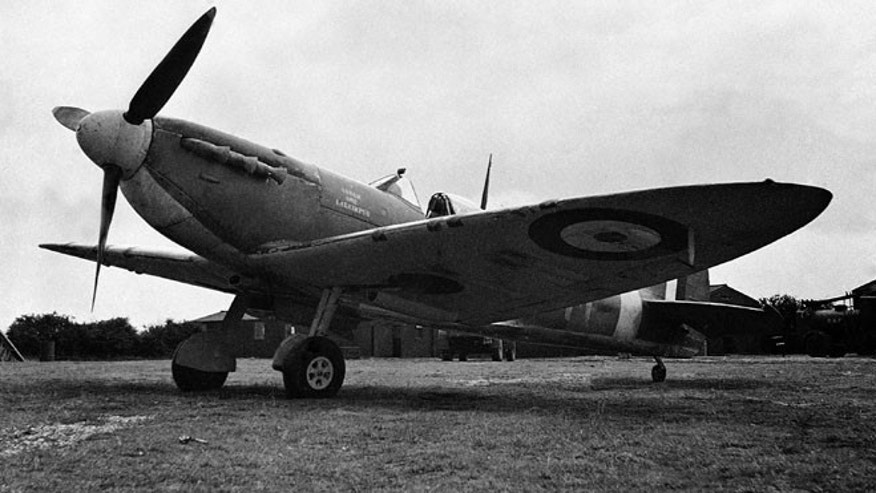 Sept. 28, 1941: In this file photo, Spitfires, subscribed for by the people of Assam, are now operating with fighter command of the Royal Air Force, at an airfield somewhere in England. Myanmar signed a deal with a British aviation enthusiast David J. Cundall to allow the excavation of a World War II treasure: dozens of Spitfire fighter planes buried by the British almost 70 years ago.