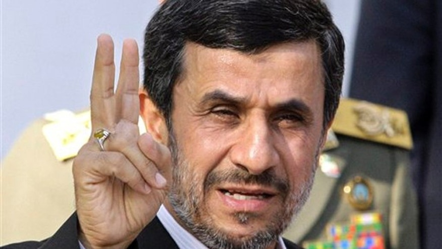 Iranian President Mahmoud Ahmadinejad's regime is ramping up its cyber warfare capabilities. (AP)