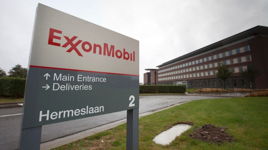 Oct. 26, 2012 - The headquarters of ExxonMobil in Brussels.