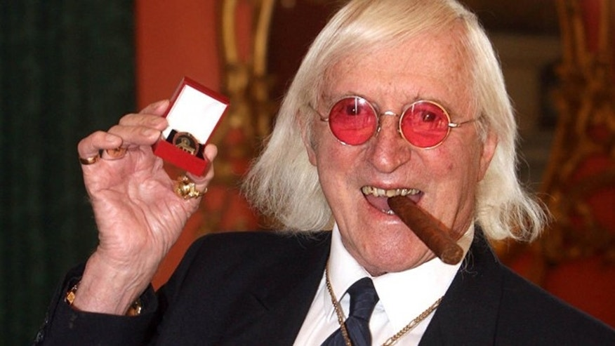 March 2008: Sir Jimmy Savile was a fixture on British television for decades.