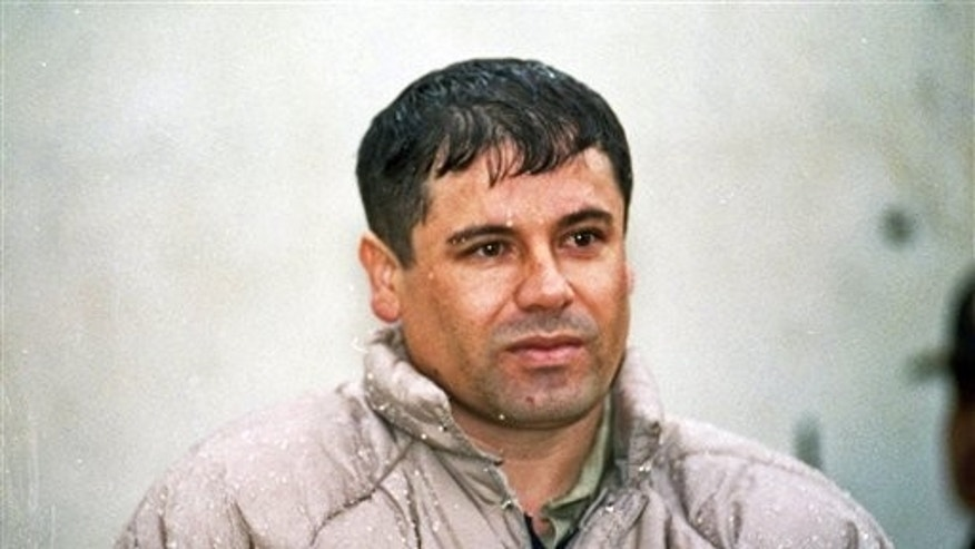 Joaquin 'El Chapo' Guzman is listed as the leader of Mexico's Sinaloa cartel.