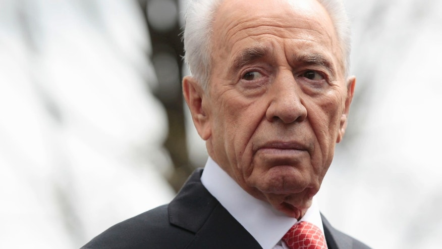 April 5, 2011 - FILE photo of Israeli President Shimon Peres.