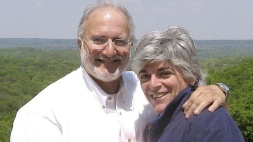 Handout photo provided by the Gross family shows Alan and his wife Judy Gross.