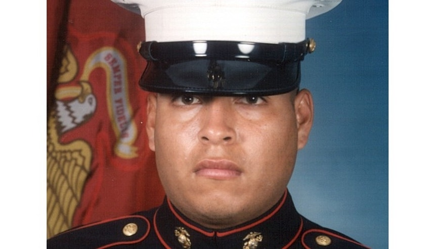 This undated photo released by the U.S. Marines, shows Sgt. Rafael Peralta, 25.