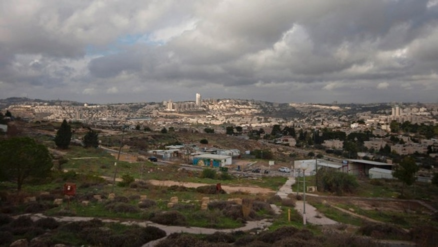 Dec. 5, 2012: General view of Givat Hamatos area in east Jerusalem.