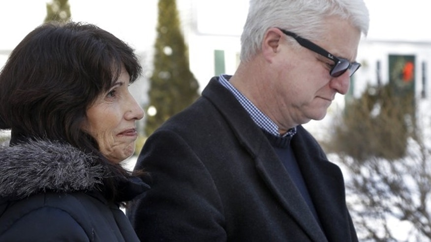 Jan. 3, 2013: Diane and John Foley speak about their son, James Foley, 39, a journalist who was kidnapped in Syria by unknown gunmen on Thanksgiving day, during a news conference at their home in Rochester, N.H.