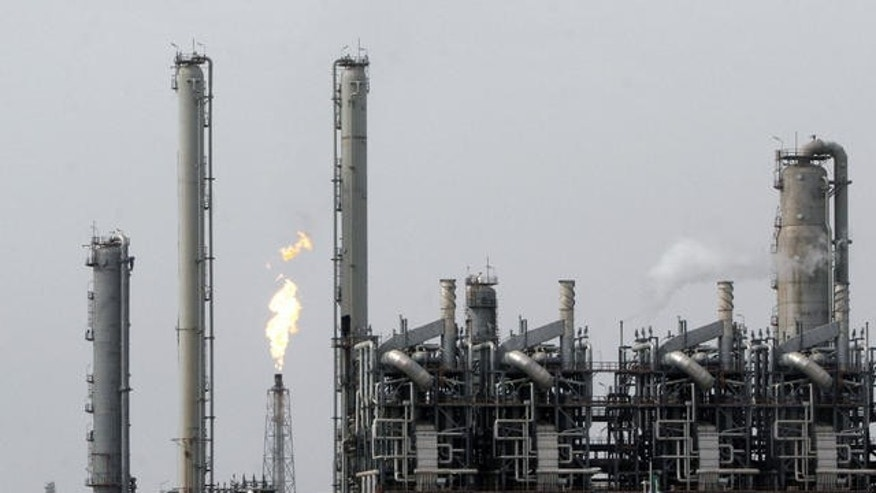FILE photo of oil refinery and petrochemical complex in the port of Mahshahr, Iran.