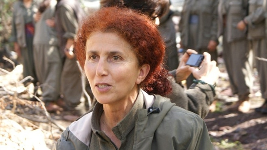 """This undated and unlocated photo provided Thursday, Jan.10, 2013 by the Kurdish Cultural center in Paris shows Sakine Cansiz, founding member of the Kurdistan Workers Party, or PKK.  Three Kurdish women, including Cansiz, were """"executed"""" at a Kurdish center in Paris, the interior minister said Thursday. (AP Photo/ Kurdish Cultural Center)"""