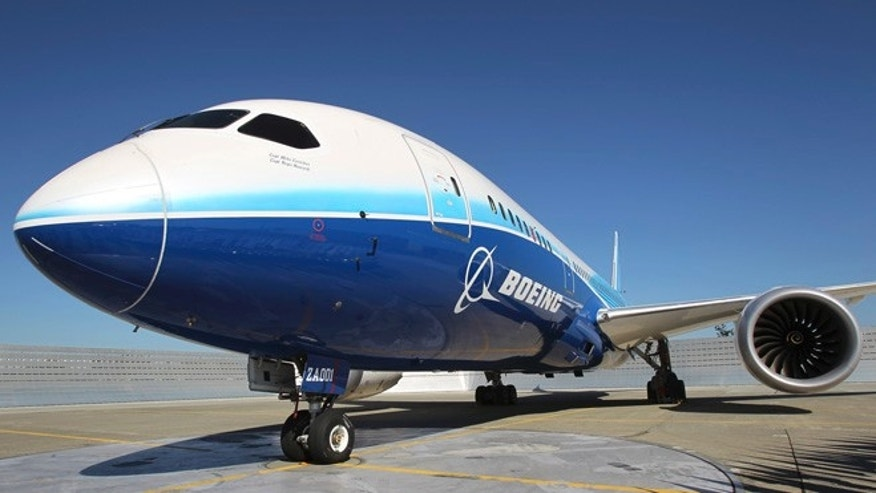 Aug. 26, 2011: A 787 Dreamliner sits on the tarmac at Boeing Commercial Airplanes manufacturing facilities at Paine Field, Everett, Washington during the jetliner&#39&#x3b;s certification event.