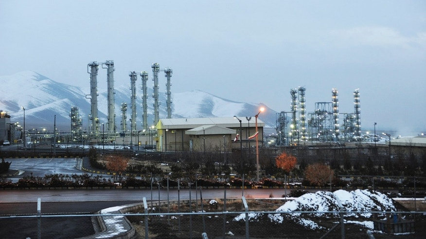Jan. 15, 2011 - FILE photo, Iran's heavy water nuclear facilities near the central city of Arak 150 miles southwest of Tehran.