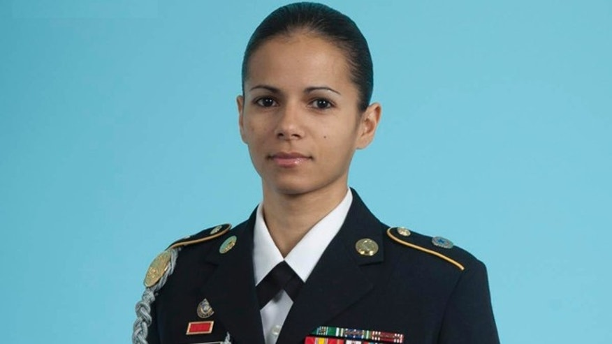 Staff Sgt. Denises Veitia has served in the U.S. Army for nine and a half years and plans to tryout for the infantry combat decision following the lifting of the combat ban for women.