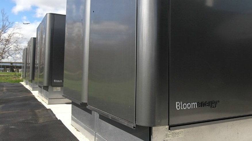 "Bloom Energy, a Silicon Valley start up, introduced the ""Bloom Box,"" a solid oxide fuel cell device that can generate electricity at a cost of 8 to 10 cents per kilowatt hour using natural gas."