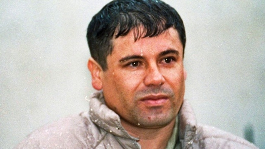 "Joaquin Guzman Loera, alias ""El Chapo"" Guzman, is shown to the media after his arrest at the high security prison of Almoloya de Juarez, on the outskirts of Mexico City."