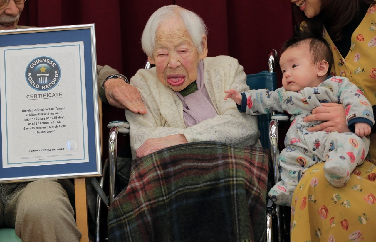 Oldest Person In The World 2013