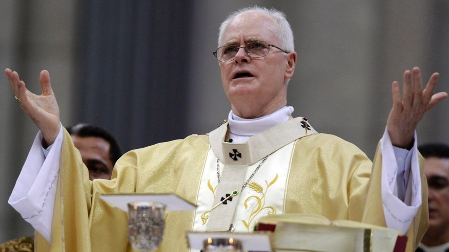 Cardinal Odilo Pedro Scherer, Sao Paulo's archbishop, gives a special Mass of thanksgiving in honor of Pope Benedict XVI at the Cathedral in Sao Paulo, Brazil, Friday, Feb. 22, 2013. The cardinal will be part of the conclave that will elect the next Pope. (AP Photo/Andre Penner)
