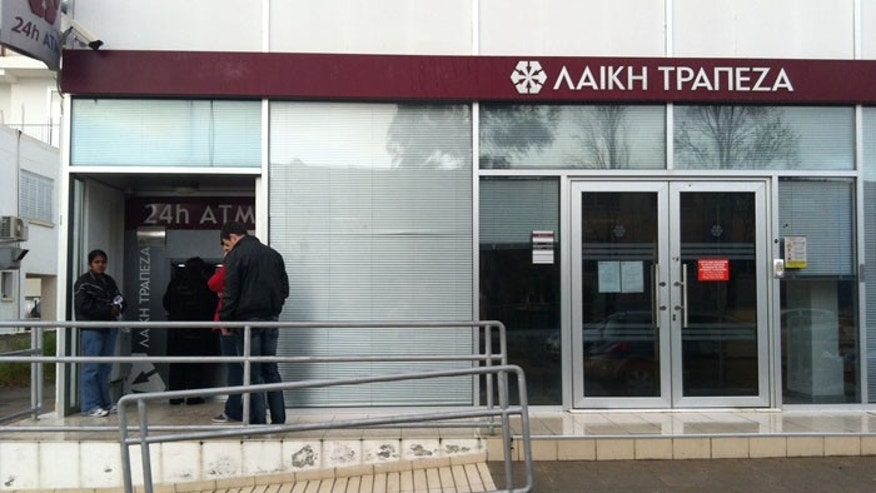 Banks have been closed since word got out that the Cypriot Parliament is considering seizing a percentage of banks deposits. (Photo by Shemaine Bushnell)