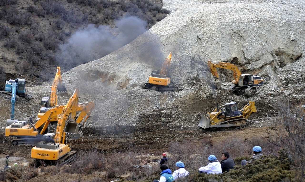 Tibet mining disaster in chile