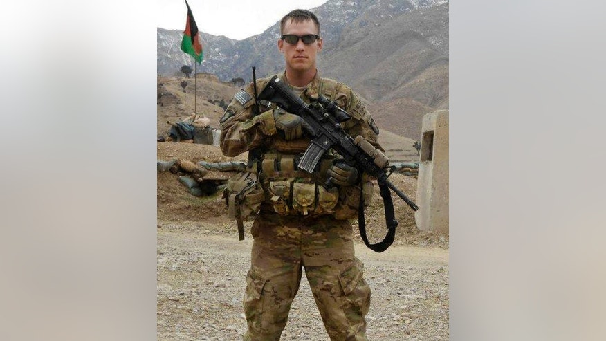 FILE: undated U.S. Army photo, shows Sgt. Michael C. Cable, 25, of Philpot, Ky. during his deployment in Afghanistan.