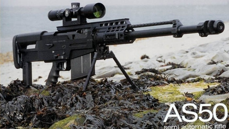 Video appears to show world's most powerful rifle in hands ...