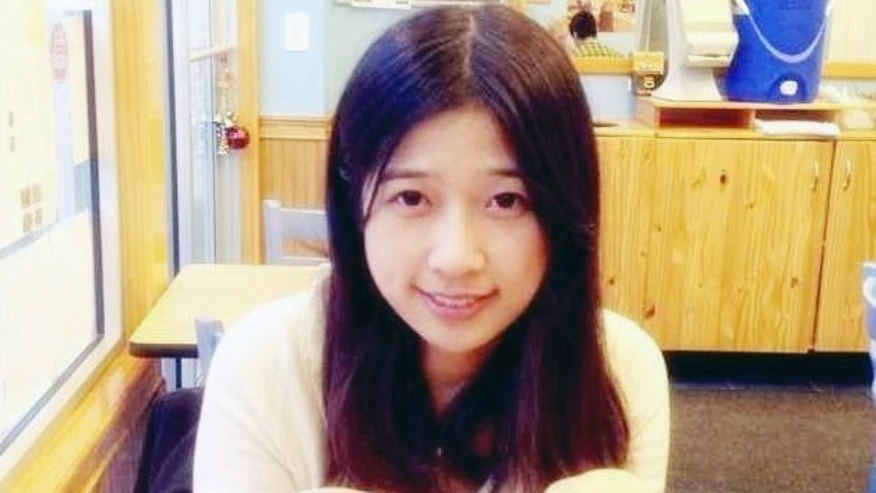 Undated photo provided by Meixu Lu shows Lingzi Lu in Boston.
