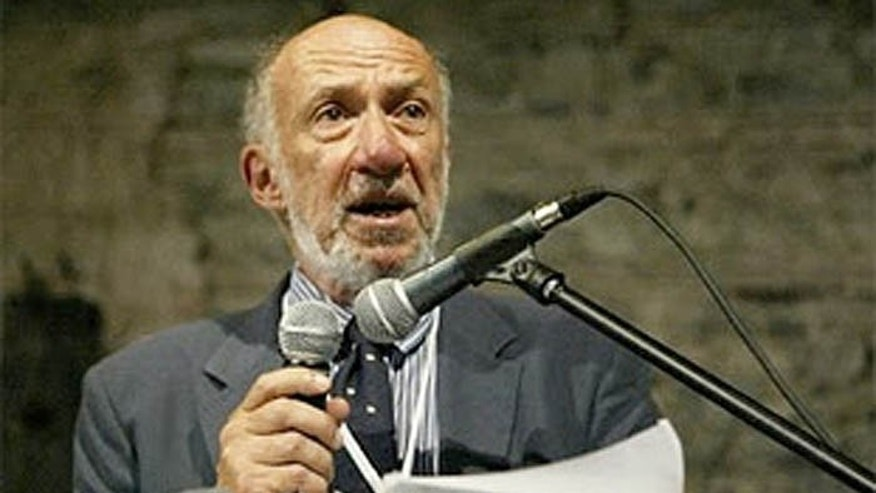 It's not the first time Richard Falk, the UN Human Rights Council's Palestine monitor, has come under fire for comments. (AP)