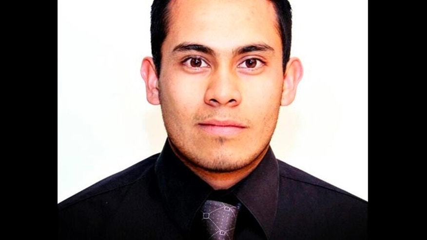 This undated image released on Thursday, April 25, 2013 by the newspaper Vanguardia de Saltillo shows Vanguardia staff photographer Daniel Martinez Bazaldua.  On Wednesday, April 24, 2013, the newspaper said that the hacked-up bodies of Martinez Bazaldua and another young man were found in the northern Mexico city of Saltillo next to the kind of hand-lettered signs frequently used by drug cartels.