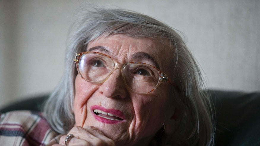 April 25, 2013 - Margot Woelk one of Hitler's food testers, in Berlin.